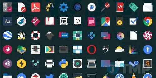 6 theme icon dep nhat cho linux 2