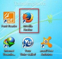 Firefox - Xóa lịch sử, cache của trình duyệt