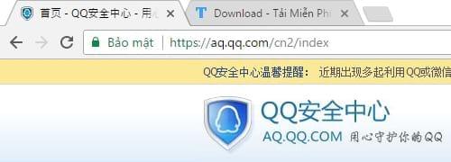 Cách đăng nhập QQ 1