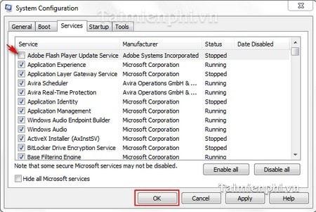 Vô hiệu hóa, tắt thông báo cập nhật trong Adobe Reader