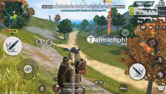 ban cap nhat rules of survival 11 7 2