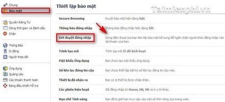 Cách bảo mật nick Facebook tránh bị hack
