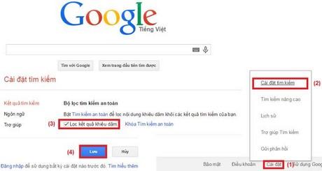 bat bo loc 18+ tren google