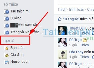 Bo theo doi ban be tren facebook