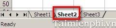 an sheet trong excel