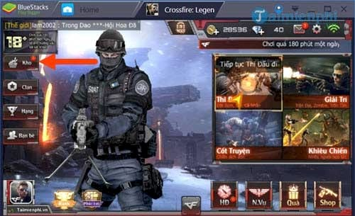 cach ban sung ngam trong cf mobile crossfire legends 2