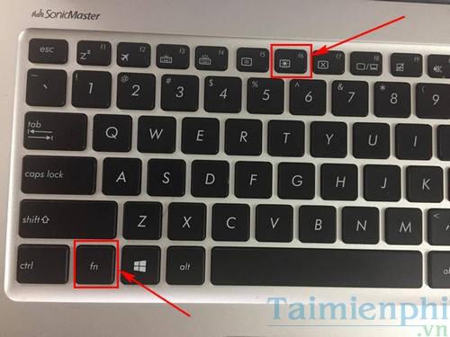 cach bat tat den ban phim laptop dell hp asus acer vaio lenovo macbook 3