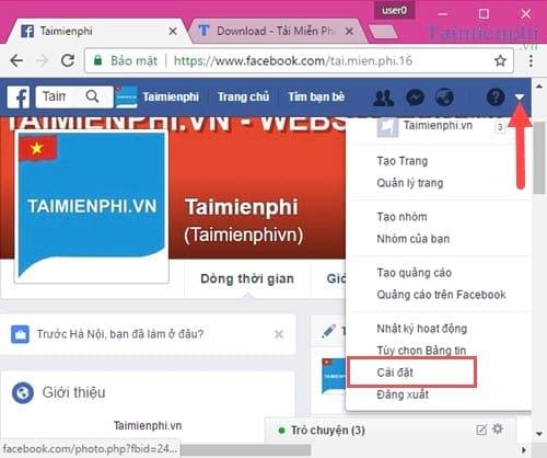 cach bat tat phu de video facebook 2