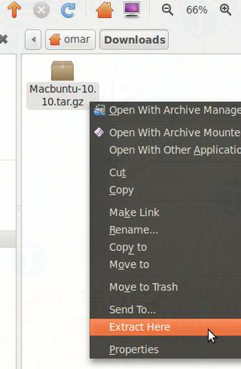 cach bien ubuntu linux thanh mac os x 2