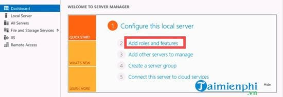cach cai dat dns role trong windows server 2012 2