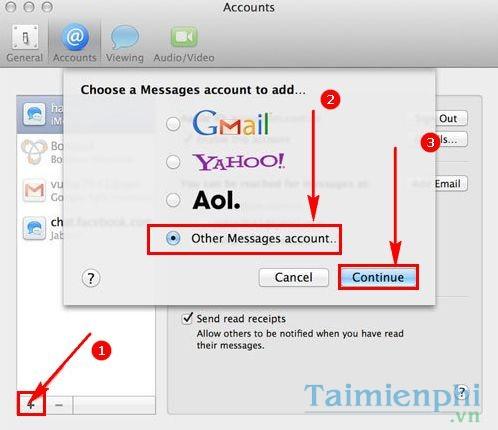 cach cai facebook messenger cho mac 2