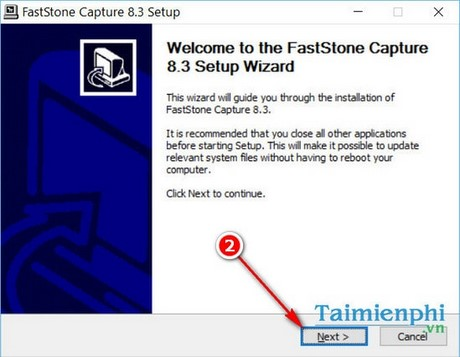 setup fastone capture tren windows