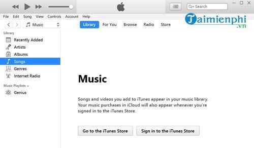 Cách cài nhạc chuông cho iPhone bằng iTunes 1