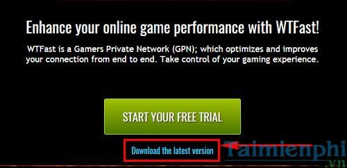 cach cai wtfast giam giat lag ha ping khi choi game online 2