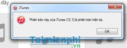 cach cap nhat itunes tai itunes moi nhat cho may tinh laptop 3