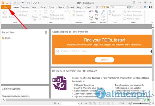 cach chen am thanh nhac vao file pdf bang foxit reader 2