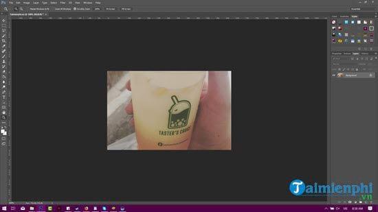 cach chen logo vao hinh anh bang photoshop 2