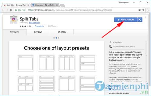 Cách chia màn hình trên Google Chrome, chia đôi, chia 4