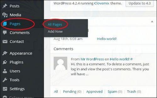 cach chinh sua link trong wordpress 2