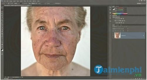 cach chinh sua va lam dep da trong photoshop 2