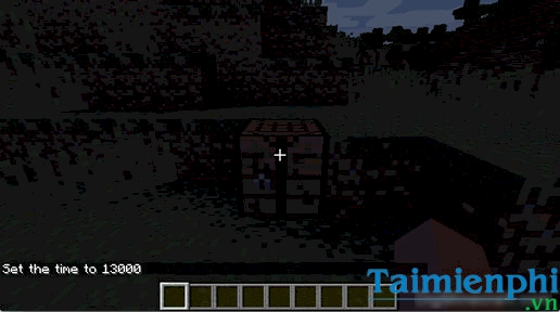 cach chinh troi toi trong minecraft 2