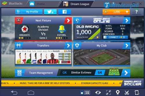 cach choi dream league soccer game da bong 2