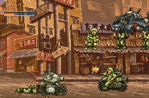 cach choi metal slug rampage game rambo lun 2
