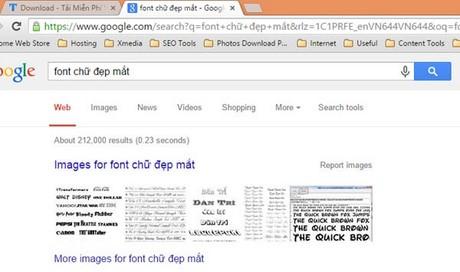 Chọn font chữ trong Photoshop, tạo chữ đẹp, nghệ thuật trong Photoshop