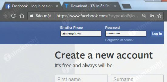 cach copy link facebook tren may tinh 2
