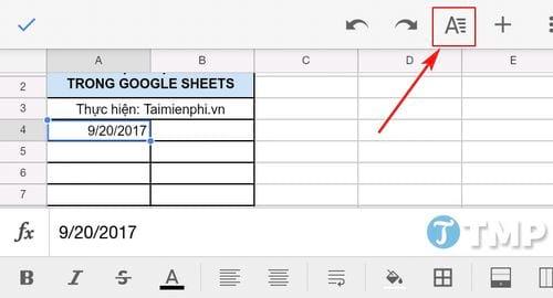 cach dinh dang ngay trong google sheets format dates 2
