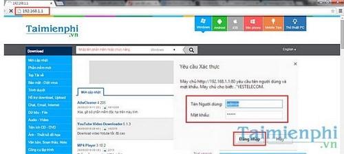 Cách đổi tên wifi TPlink Viettel