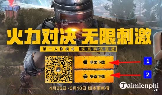 cach download pubg mobile 0 8 6 ban trung quoc 2