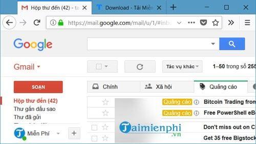 cach giai phong dung luong gmail 2