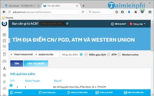 cach huy sms banking acb 2