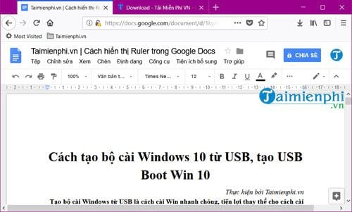 cach in trong google docs 2