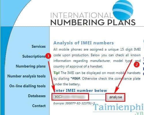 Cách kiểm tra IMEI, test IMEI điện thoại Sony Xperia cũ, xách tay trướ