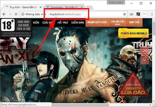 cach kiem tra website lua dao dang nhap nap the truy kich 2