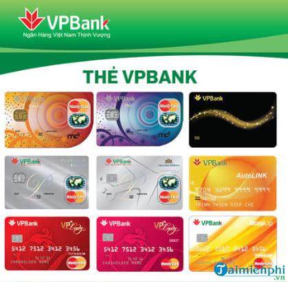 cach lam the visa vpbank the tin dung vpbank 2
