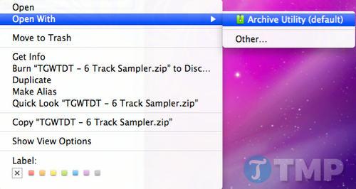 cach mo file zip tren macbook 2