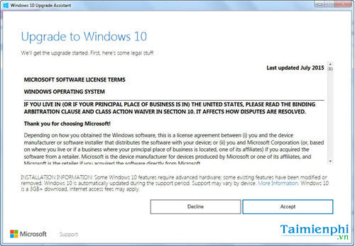 cach nang cap cap nhat windows 7 8 1 len windows 10 creators update 2