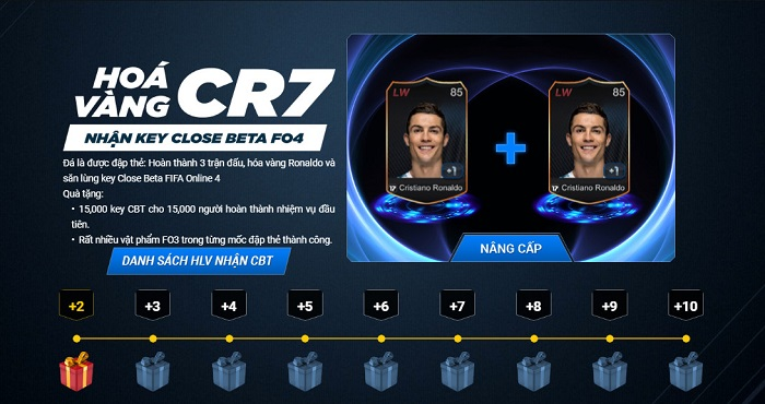 cach nhan key fifa online 4 ban close beta 2