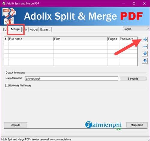 cach noi file pdf tu nhieu file thanh 1 file 2