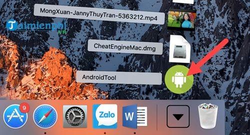 cach quay man hinh dien thoai android tu macbook 2