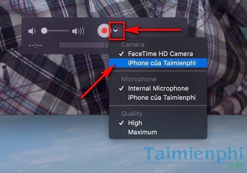 cach quay man hinh iphone tren may tinh va mac 2