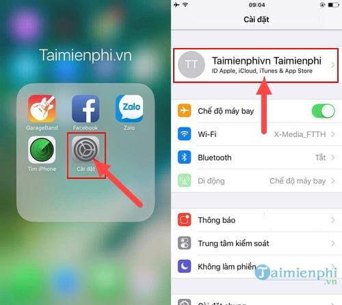 cach sao luu backup icloud iphone ipad 2