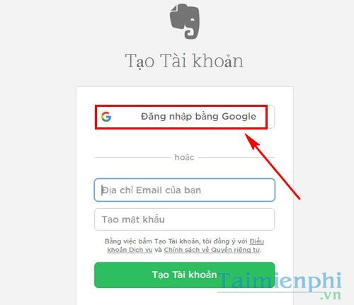 cach su dung evernote online quan ly ghi chu 2