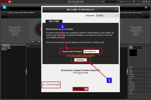 how to use virtual dj 2