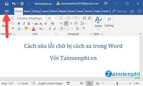 Những Cách sửa lỗi chữ bị cách xa trong Word