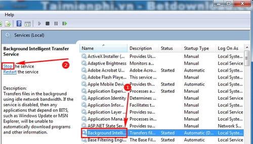 cach sua loi failure configuring windows updates reverting changes tren windows 2
