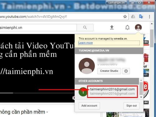 cach tao anh bia tai khoan youtube 2